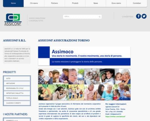 Assiconf Torino Sito Web
